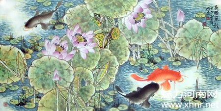 中原第一鱼——著名画家薛峰作品赏析