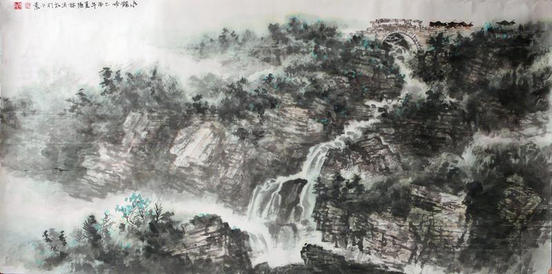 走进辉县书画名家——武阳林