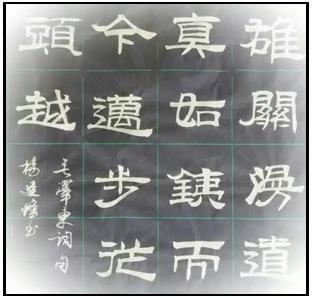杨建锋书法作品在线欣赏