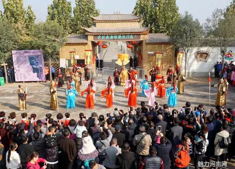 辉县太行民俗风情文化园盛大开园